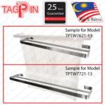 TPTW7000 Series: 1-Tier Double Towel Bar