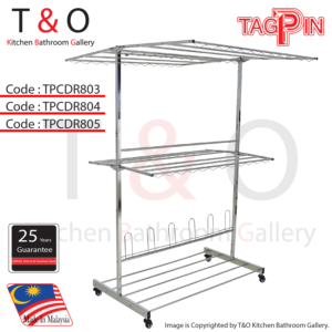 Free Standing Clothes Hanger (TPCDR800 Series)