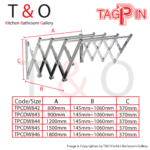 Wall Mounted Clothes Hanger (TPCDW840 Series)