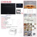 DE&E Steam Oven: ZA4565