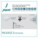 JAQUAR TOP BASIN PACKAGE 3